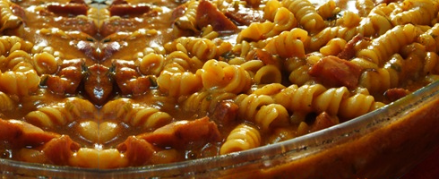 Receita de Carne Guisada com Macarrao