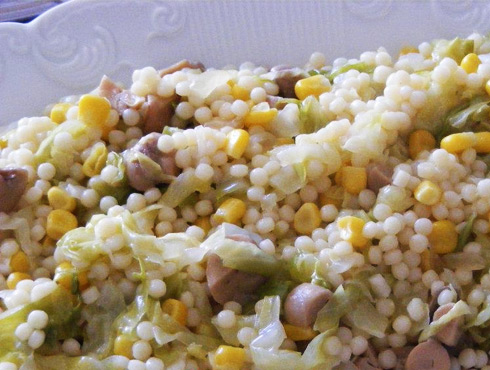 Receita de Cuscuz com Legumes