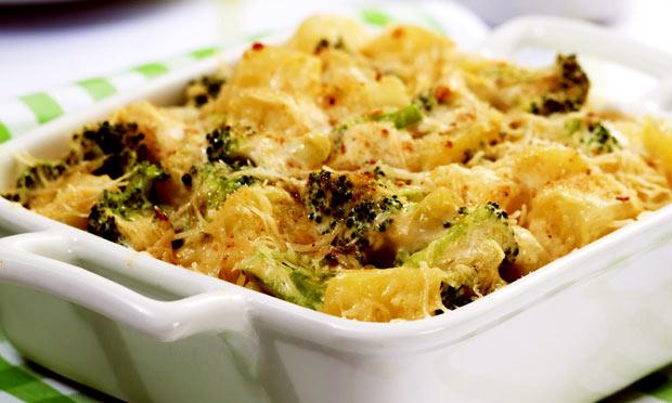 Gratinado de brócolos