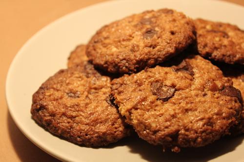 Biscoitos de Limão e Chocolate