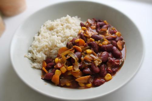 Receita de Chili de Legumes
