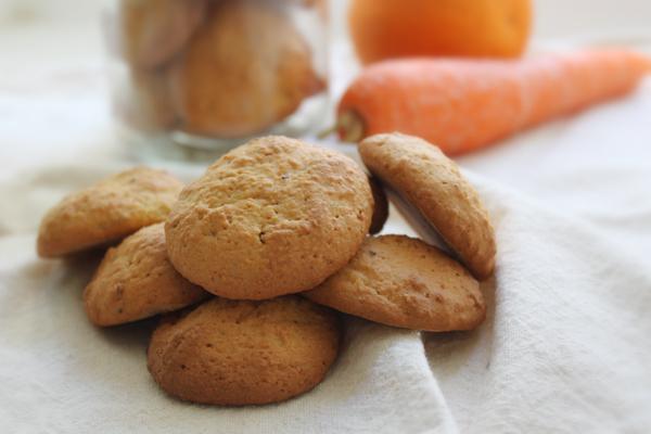 Bolinhos de Cenoura e Laranja