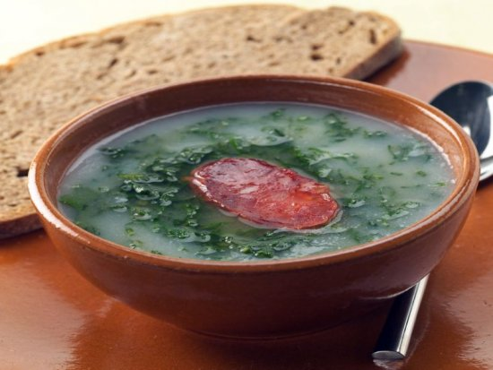 Caldo Verde do Claudius Grill