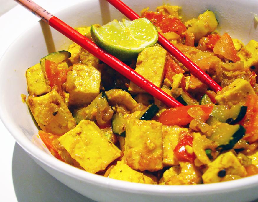 Tofu Picante no Wok