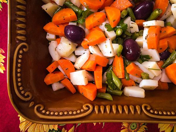 Salada de Legumes Cozidos - 2