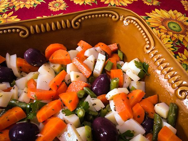 Salada de Legumes Cozidos - 3